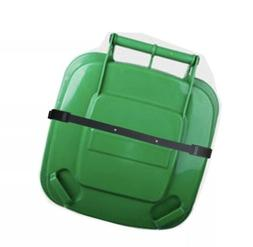Bin Strap Garbage Lock Trash Can Lid Strap Garbage Can Secur