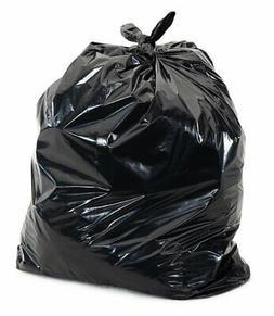 Plasticplace Black 40-45 Gallon Trash Bag, 40x46, 1.5 Mil, 1