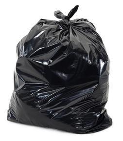 "Plasticplace Tall Black Kitchen Bags, 12-16 Gallons, 24""W x"