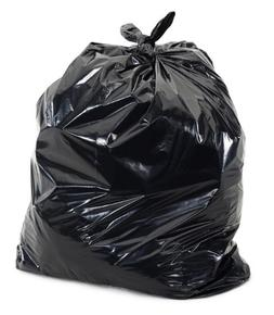 "Plasticplace Black 25-30 Gallon Trash Bags 30"" x 36"" 100/Cas"