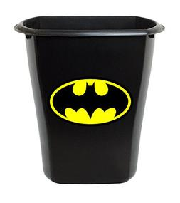 New Black Plastic 3 Gallon Trash Can Waste Basket Featuring