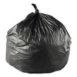 16 Gallon Black Trash Bags, 24x33, 6mic, 1000 Bags