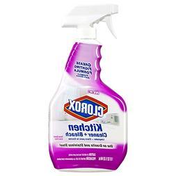 Clorox Kitchen Cleaner + Bleach Spray, Floral Scent 32 oz