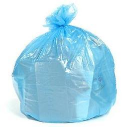 Toughbag Blue Recycling Bags, 40 Gallon, 23x10x46, 1.2 Mil
