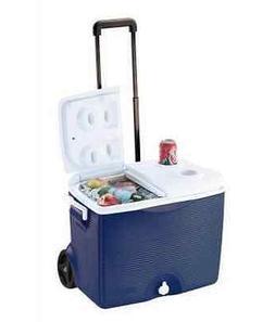 Rubbermaid Home 0824-4394 Rubbermaid 45 Quart Wheeled Cooler