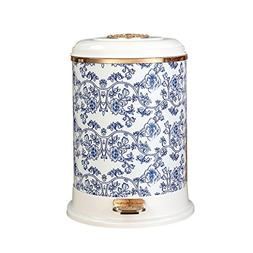 Trash can kitchen trash can small trash can bathro Blue And