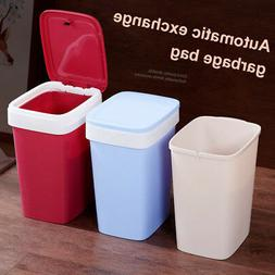 Brief Pressing Type Trash Can Bag Easy Change Garbage Can wi