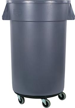 Carlisle Bronco Round Waste Container & Dolly Combo