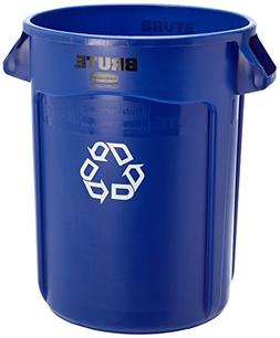 Rubbermaid Commercial Brute Recycling Container, Round, Plas