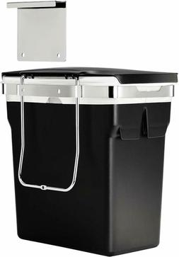 Cabinet Door Trash Can Wastebasket Hanging Heavy Duty Kitche