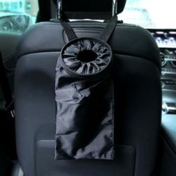 Car Seat Back Garbage Bag Car Auto Trash Can Leak-proof Dust
