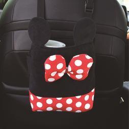 Car Seat Hanging Storage <font><b>Bag</b></font> Cartoon Plu