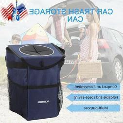 Car Trash Can Garbage Waterproof Bag Vehicle Truck Storage C