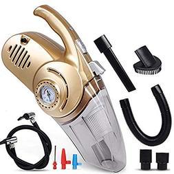 ZSKJ Car Vacuum Cleaner LED Light 12-Volt 96W 3000 Suction P