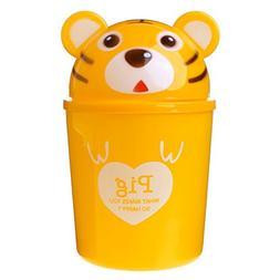 Yuly New Cartoon Animal Table Dustbin Sundries Barrel Lovely