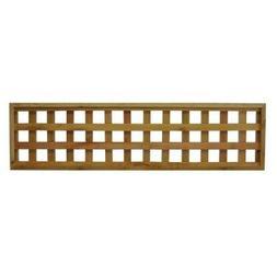 45.75 In. X 12 In. Checkerboard Pattern Western Red Cedar Co