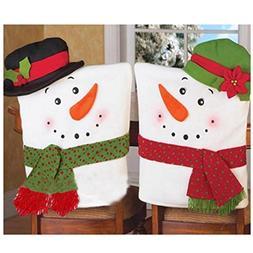 Christmas Hat Chair, ღ Ninasill ღ Exclusive 2 PCS Christ