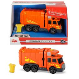 CITY CLEANER GARBAGE TRUCK DICKIE TOYS SOUND AND LIGHT DICKI
