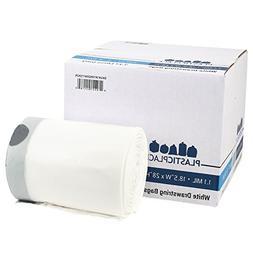 Plasticplace 8-9 Gallon Code H Compatible White Drawstring B