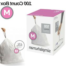 Simplehuman Code M Trash Bag 100 Extra Strong Custom Fit Lin