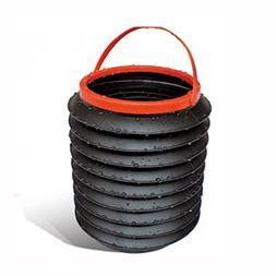 Myhouse Collapsible Bucket Auto Garbage Bin Car Storage Buck
