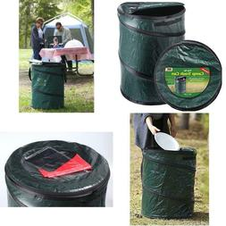 Collapsible Car Trash Can Outdoor Portable Pop Up Garbage Bi