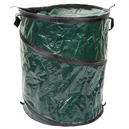 Collapsible Trash Can- Pop Up 33 Gallon Trashcan for Garbage