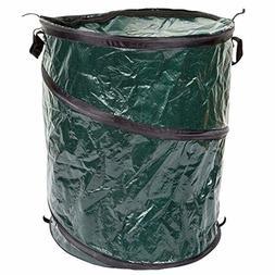 collapsible trash garbage can 33 gal loop