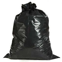Plasticplace Black Contractor Bags, 55 Gallon, 38x58, 3 Mil,