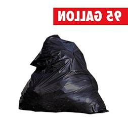 95 Gallon 2.2mil Contractor Toughest Most Durable Trash Bags