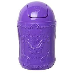 Battletter Creative Butterfly Desktop Trash Can with Shaking