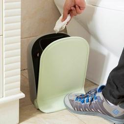 Creative Foot Pedal Garbage Bins Kitchen Living Room Storage