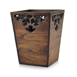 Creative Trash can,Wood Chinese style Personality Simplicity