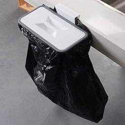 MARIAHANAN Cupboard Door Back Trash Rack Storage Garbage Bag