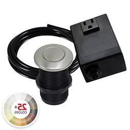Single Outlet Garbage Disposal Turn On/Off Sink Top Air Swit