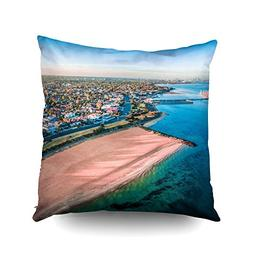 ROOLAYS Decorative Throw Square Pillow Case Cover 16X16Inch,