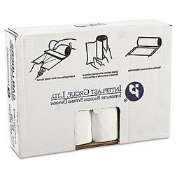* High-Density Can Liner, 33 x 39, 33gal, .63mil, Clear, 25/