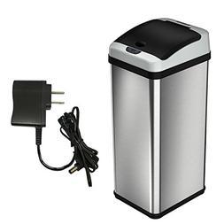 iTouchless 13 Gallon Automatic Touchless Sensor Kitchen Tras