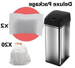 iTouchless Deodorizer Sensor Can, Touch-Free Automatic Trash