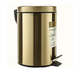 Mobeka Trash Cans Stainless Steel Trash Can, Pedal Home Livi