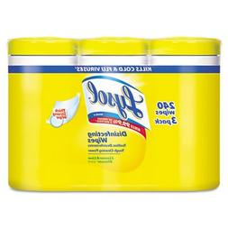 LYSOL Brand Disinfecting Wipes, 7 x 8, Lemon and Lime Blosso