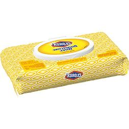 Clorox Disinfecting Wipes, Crisp Lemon - 1 Pack - 75 Wipes