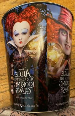 Disney Alice Through The Looking Glass 10 Garbage Can Dated
