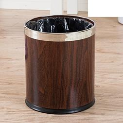 PEIISFUGB Double-decker garbage cans stainless steel creativ