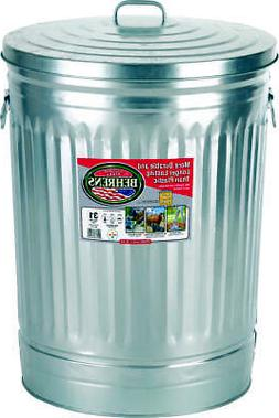 Dover 630 Garbage Can, 31 gal, 20-3/4 in Dia X 25-1/2 in H,