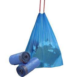 Fiaze Drawstring Trash Bags, 6 Gallon, 110 Counts/2 Rolls