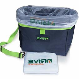 Drive Bin Car Garbage Can - Best Auto Trash Bag for Litter,