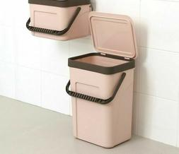 Dual Use Trash Can Pressing Type Storage Bucket Wall Mount G