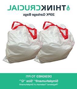 durable garbage bags fit simple