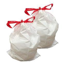 Think Crucial 20PK Durable Garbage Bags Fit simplehuman 'siz